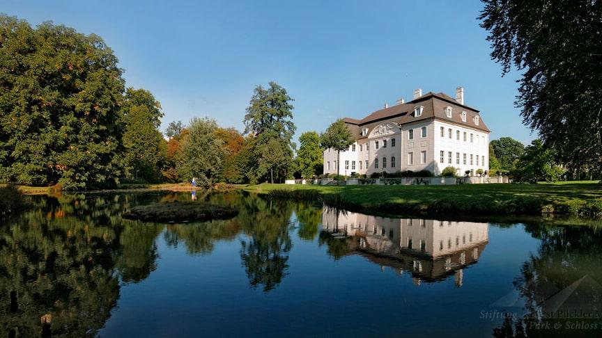 Branitzer Schloss im Branitzer Park