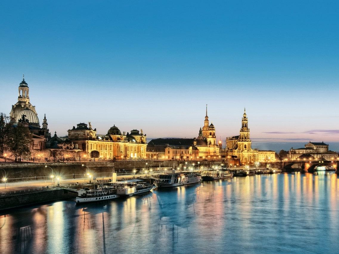 Stadtpanorama von Dresden