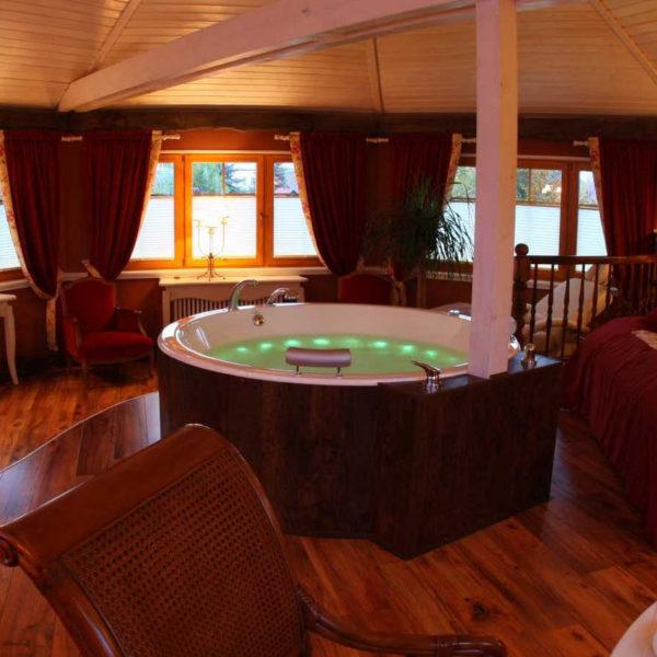 Suite mit privatem Whirlpool